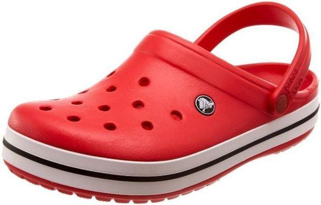 Crocs Crocband Red Czerwone Klapki Męskie Crocs