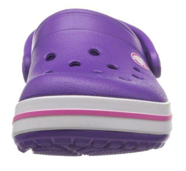 Crocs Crocband Neon Purple Magenta Fioletowe różowe klapki