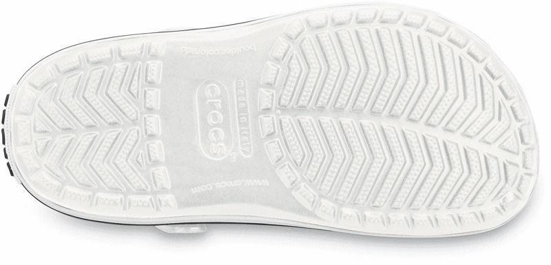 Crocs Crocband White Białe klapki dla lekarzy